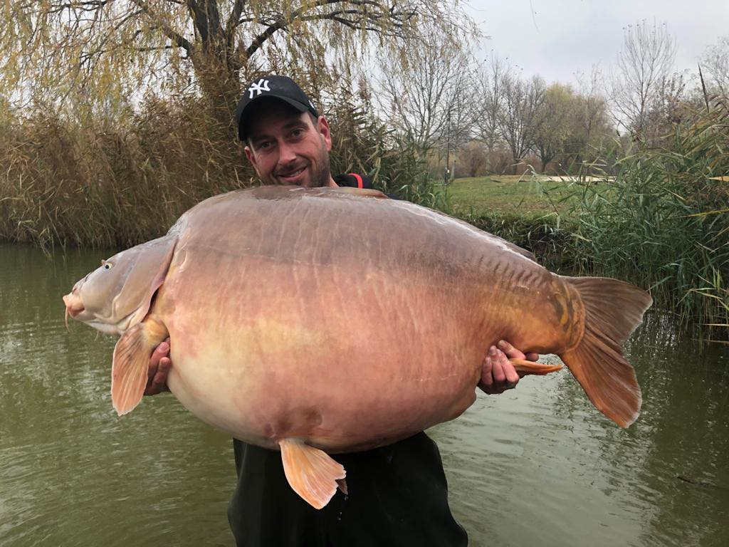 Euro Aqua 112lb 8oz World Record Carp