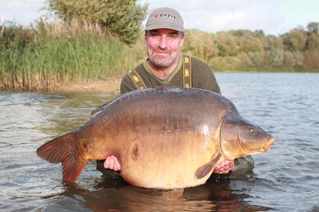 Unofficial British Record Carp at 71lb