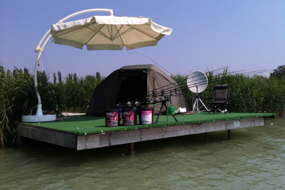 Carp Fishing Lake Balaton in Hungary