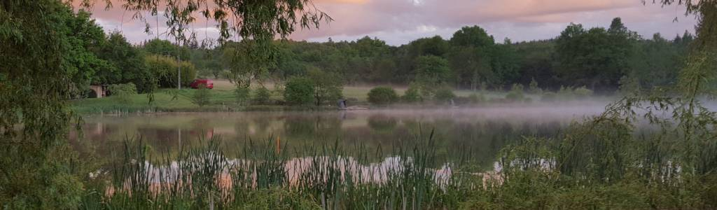 carp fishing holidays in france with accommodation and swimming pool